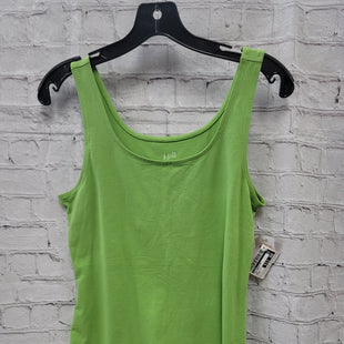 Primary Photo - BRAND: J JILL STYLE: TOP SLEEVELESS COLOR: LIME GREEN SIZE: M OTHER INFO: NWT SKU: 115-115309-20801