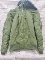 Primary Photo - BRAND:    CLOTHES MENTOR <BR>STYLE: JACKET OUTDOOR <BR>COLOR: OLIVE <BR>SIZE: S <BR>OTHER INFO: ALPHA  - <BR>SKU: 115-115302-16578