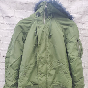 Primary Photo - BRAND:    CLOTHES MENTOR STYLE: JACKET OUTDOOR COLOR: OLIVE SIZE: S OTHER INFO: ALPHA  - SKU: 115-115302-16578