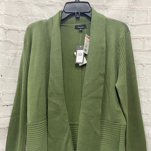 Primary Photo - BRAND: VERVE AMI STYLE: SWEATER CARDIGAN LIGHTWEIGHT COLOR: GREEN SIZE: L SKU: 115-115338-819