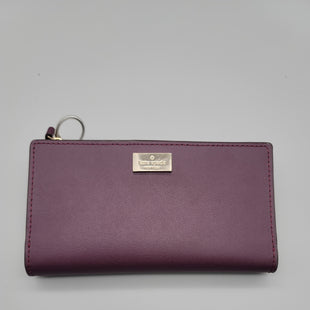 Primary Photo - BRAND: KATE SPADE STYLE: WALLET COLOR: PURPLE SIZE: MEDIUM SKU: 115-115302-18859