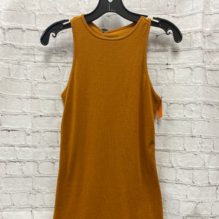 Primary Photo - BRAND: WILD FABLE STYLE: DRESS SHORT SLEEVELESS COLOR: MUSTARD SIZE: S SKU: 115-115347-3273