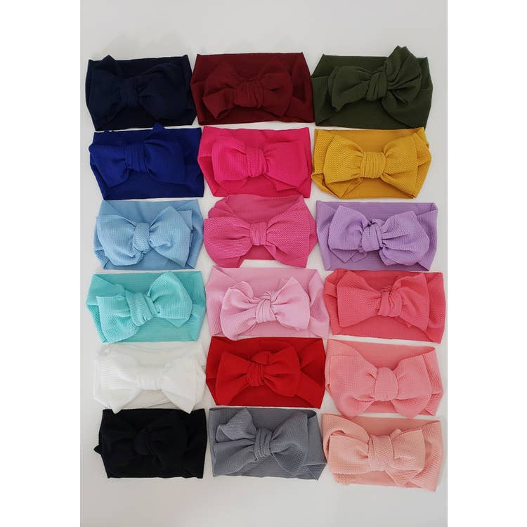 Waffle Head Wraps Various colors