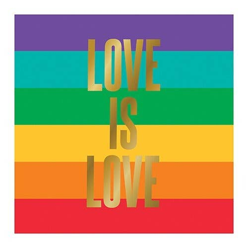 Love Is Love Bev Napkins