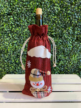 Load image into Gallery viewer, Holiday Wine Gift Bag