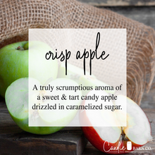 Load image into Gallery viewer, 16oz Crisp Apple Mason Jar Soy Candle