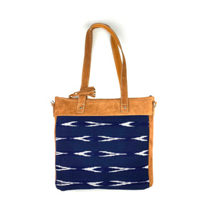 Serpentina Shoulder Bag in Navy