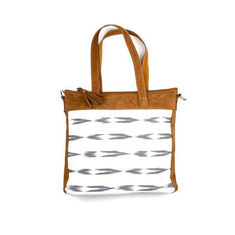Serpentina Shoulder Bag in White