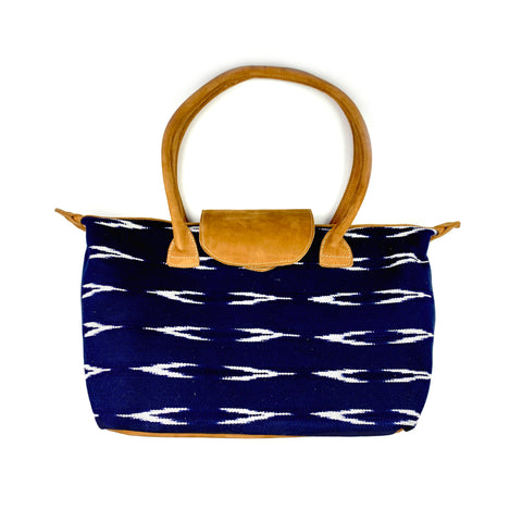 Serpentina Travel Tote in Navy