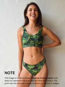SOUTH AFRICA BOTTOMS in 'Monarch' Print