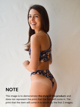 Load image into Gallery viewer, BALI BOTTOMS in 'Femme Fatale' Print