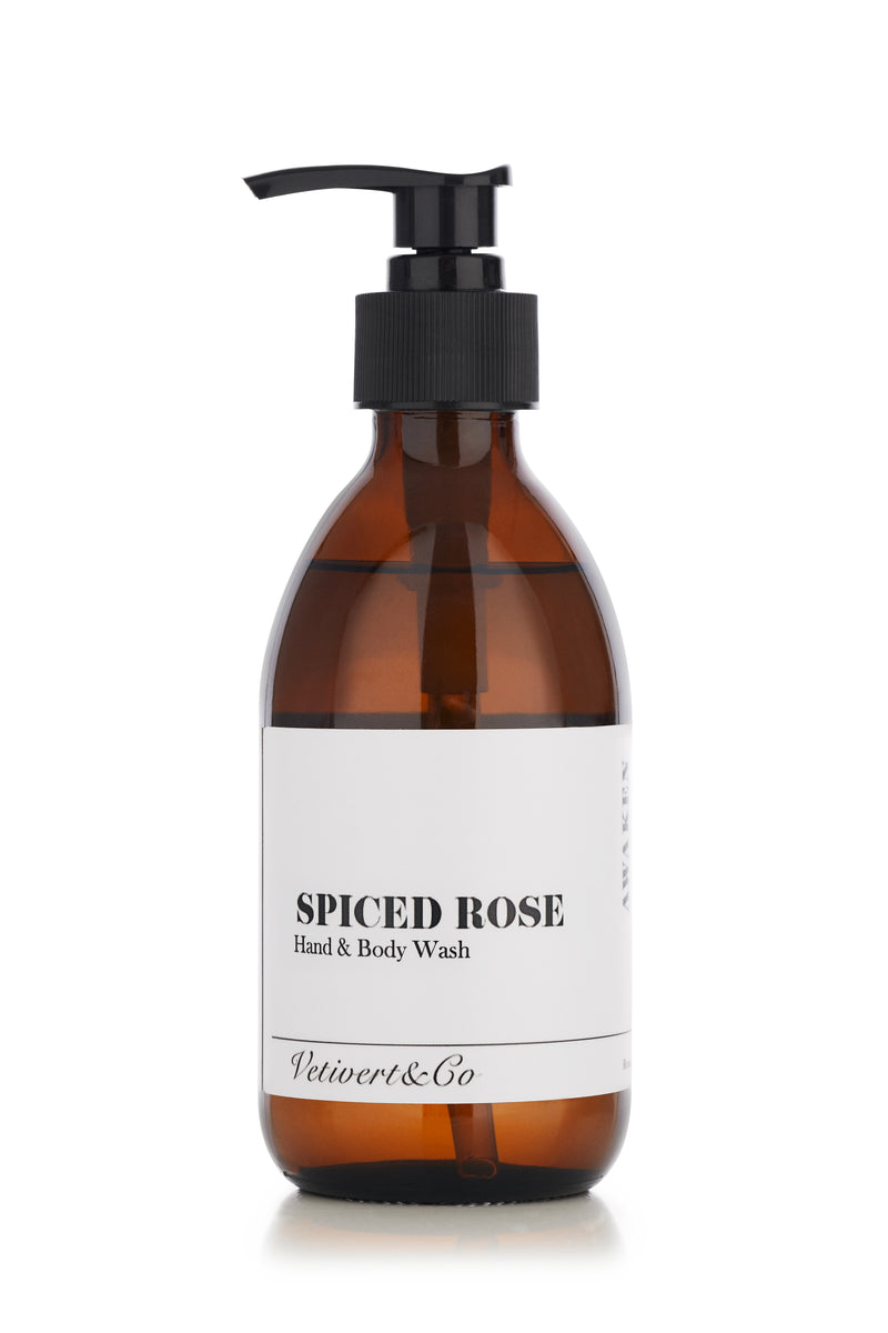 Spiced Rose Botanical Hand & Body Wash (500ml)