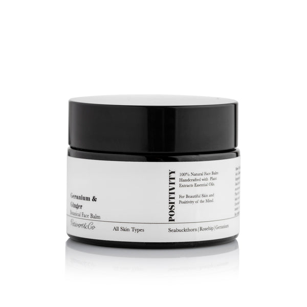 Geranium & Ginger Botanical Face Balm