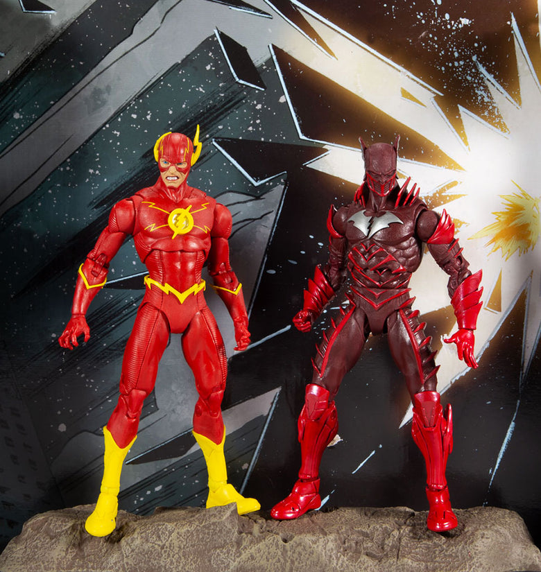DC MULTIVERSE - 2 PACK FLASH VS RED DEAD 7