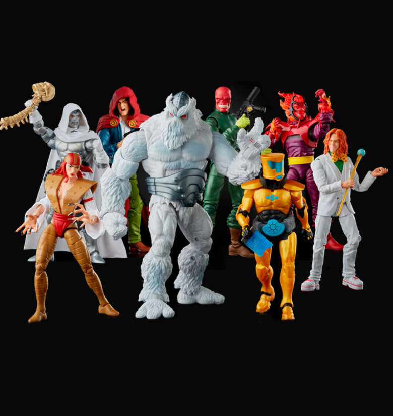 BUNDLE MARVEL LEGENDS VILLANOS BAF XEMNU - HAS6322_SERIE COMPLETA