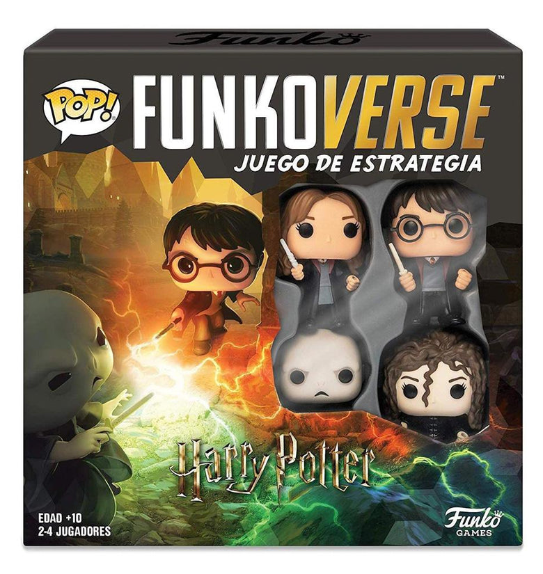 POP FUNKOVERSE HARRY POTTER 4PK SPANISH 43478