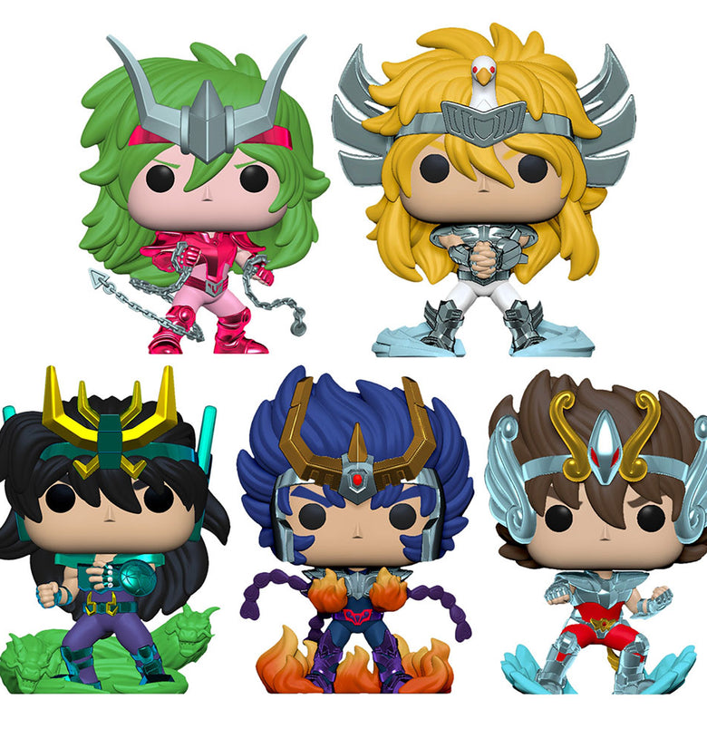 BUNDLE SAINT SEIYA FUNKO POP!