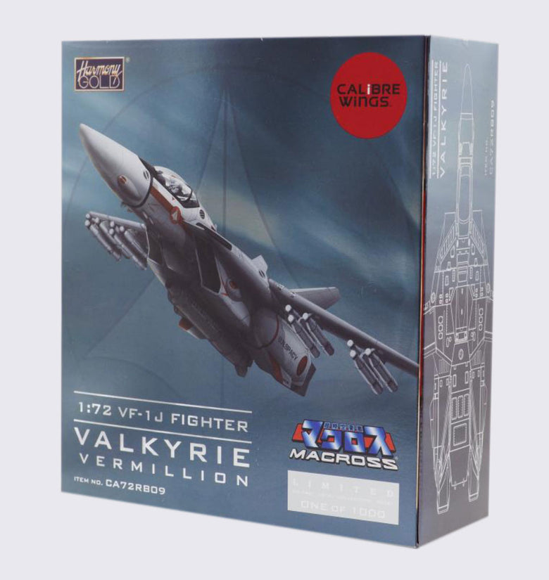 CALIBRE WING MACROSS VF-1J FIGTHER ESCALA 1:72 DIE CAST