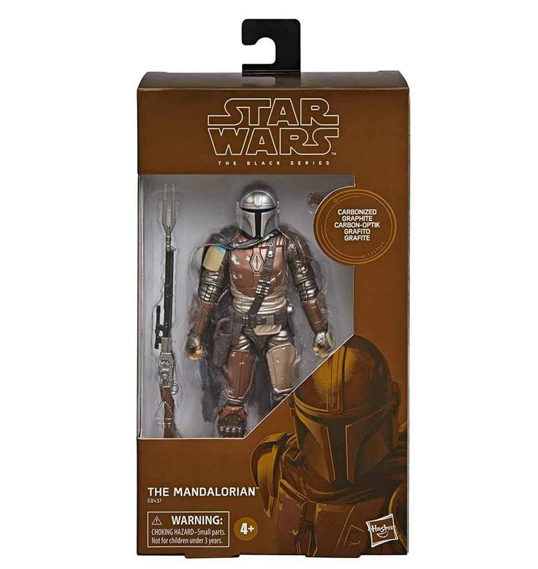 STAR WARS BL MAN THE MANDALORIAN CARBONIZED E8437