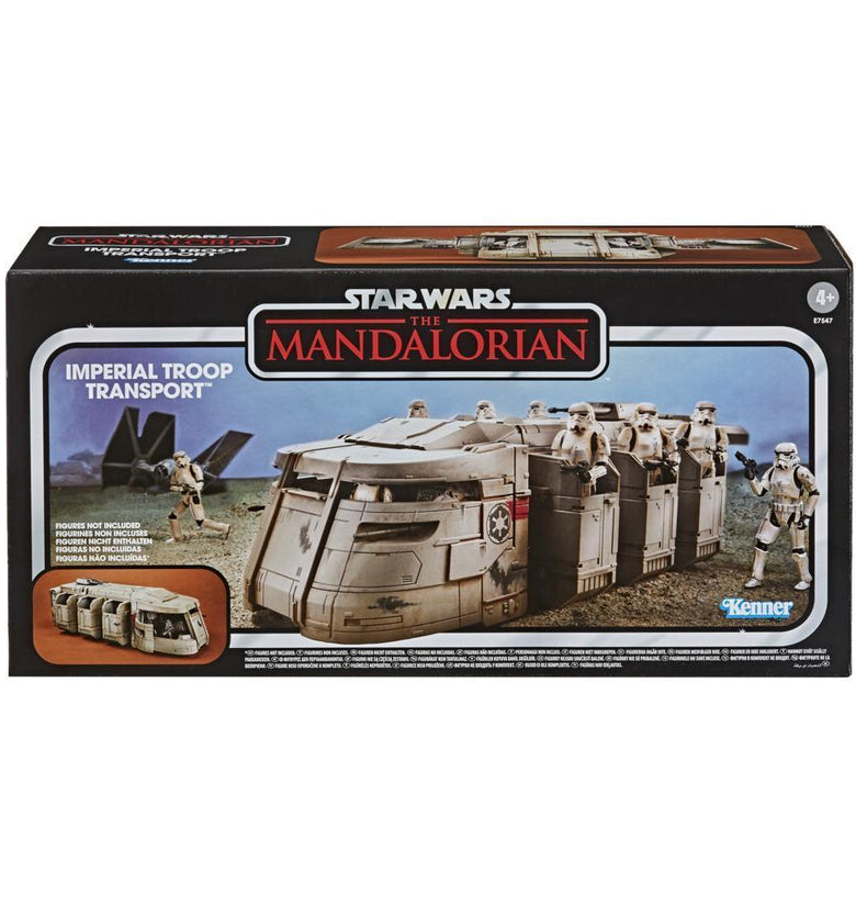 STAR WARS THE VINTAGE COLLECTION THE MANDALORIAN TRANSPORTE DE TROPAS IMPERIALES E7547