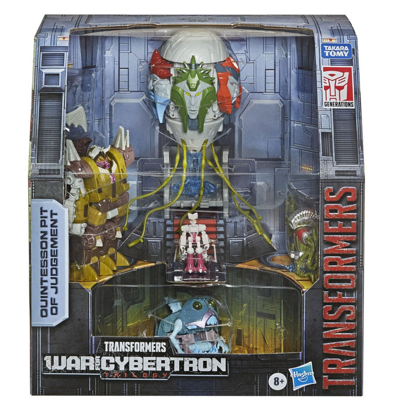 Transformers Generations War for Cybertron Trilogy Quintesson Pit of Judgement E8852
