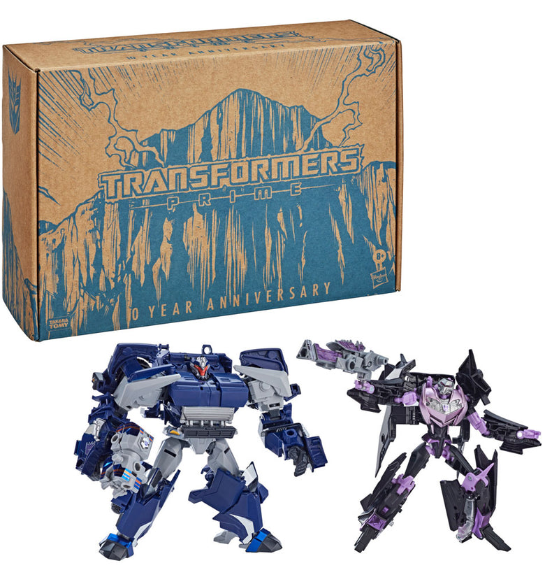 Transformers: Prime War Breakdown & Vehicon 2-Pack E9687