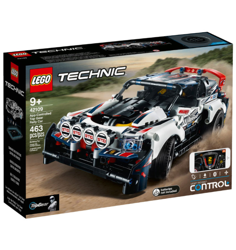AUTO DE RALLY TOP GEAR TECHNIC - CONTROLADO POR APP 42109
