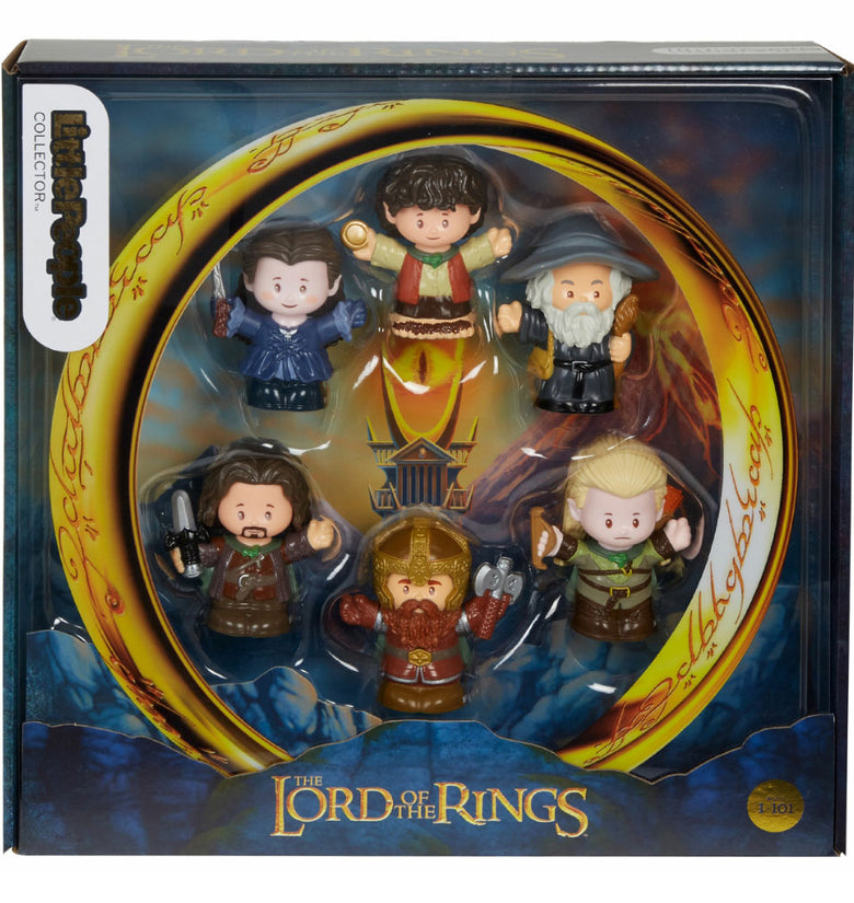 F-P LITTLE PEOPLE COLLECTOR LORD OF THE RINGS 6PACK GTM01