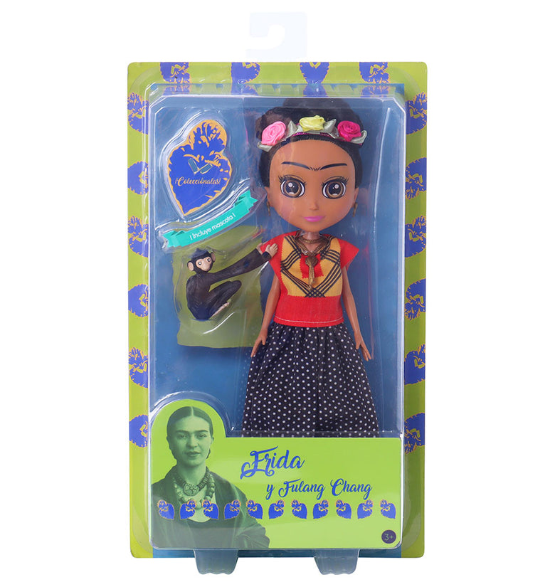 FRIDA DE MIS AMORES FRIDA FASHION DOLL CON FULANG CHANG 55202