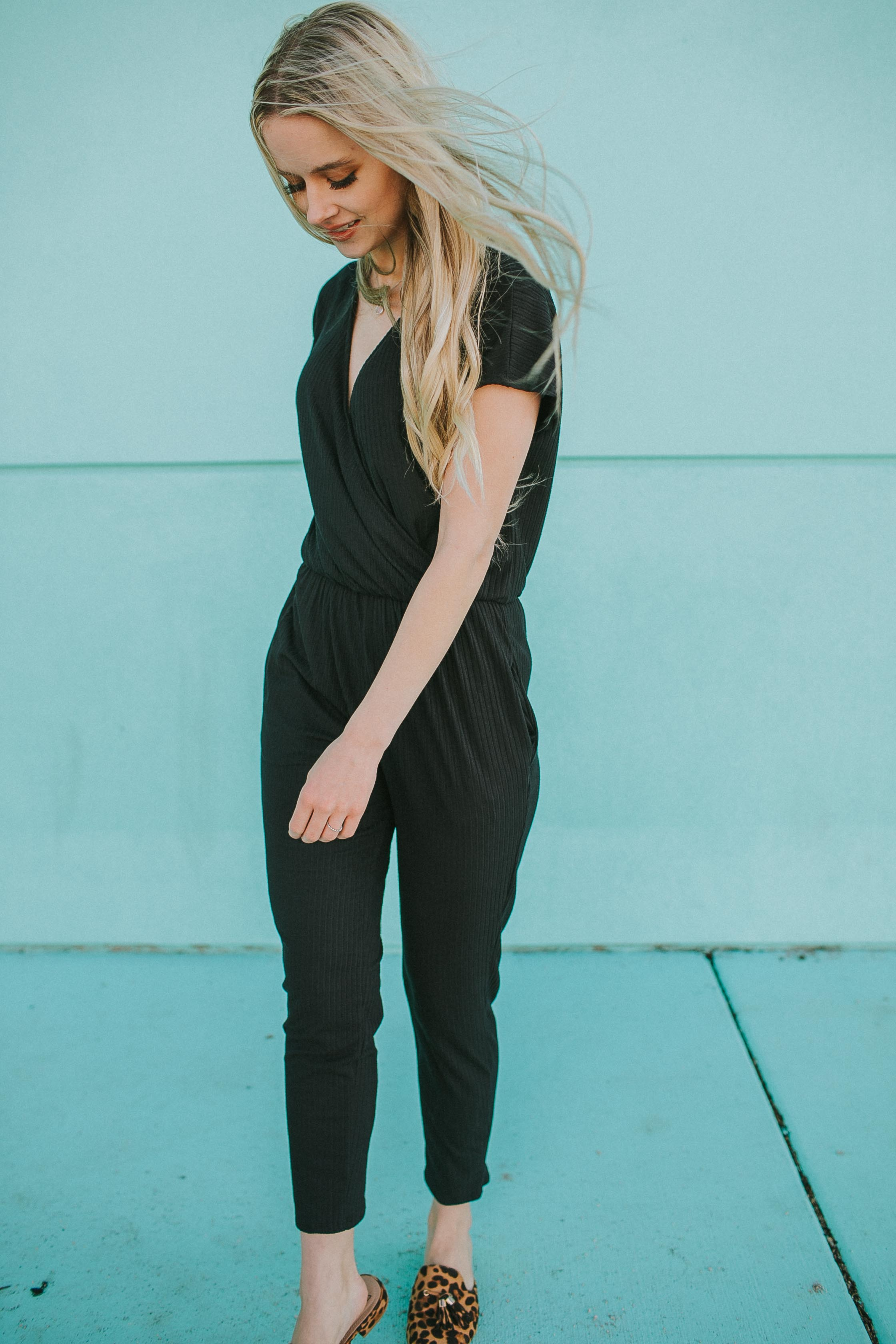 Perfect Black Romper