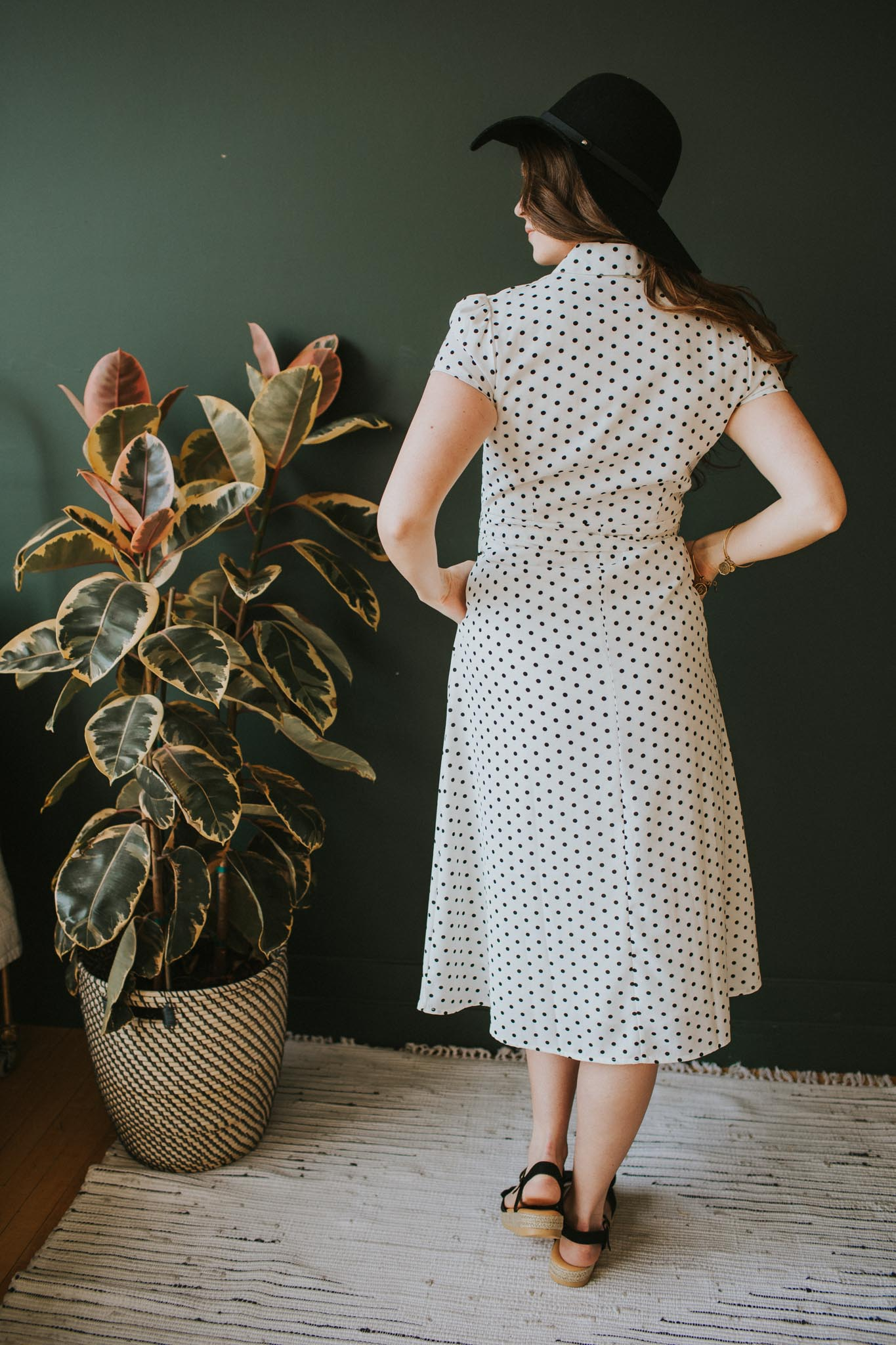 Josie Polka Dot Dress