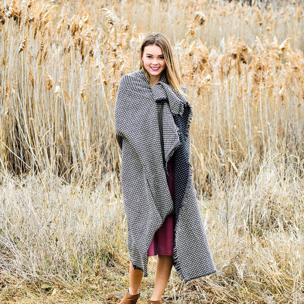 On the Dot Blanket Scarf