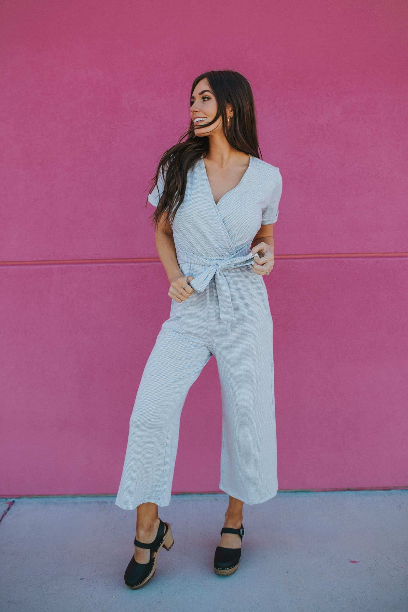 Shades of Grey Jumpsuit