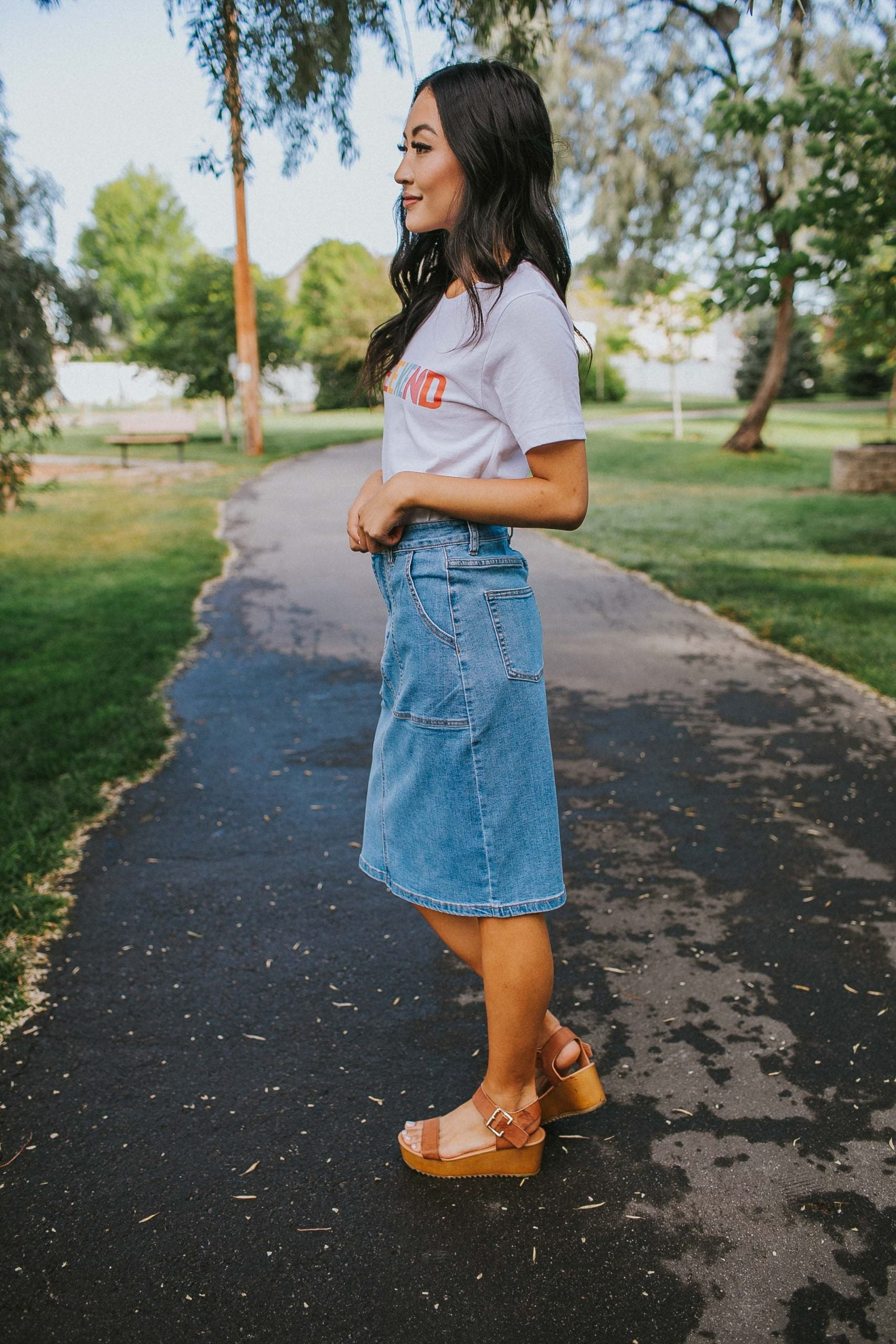 Sloane Denim Skirt