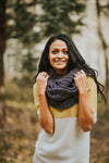 Warm Me Up Scarf in Navy