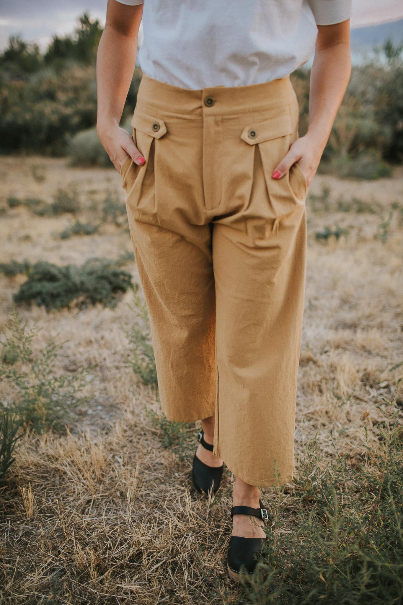 Aurelia Pleated Pants