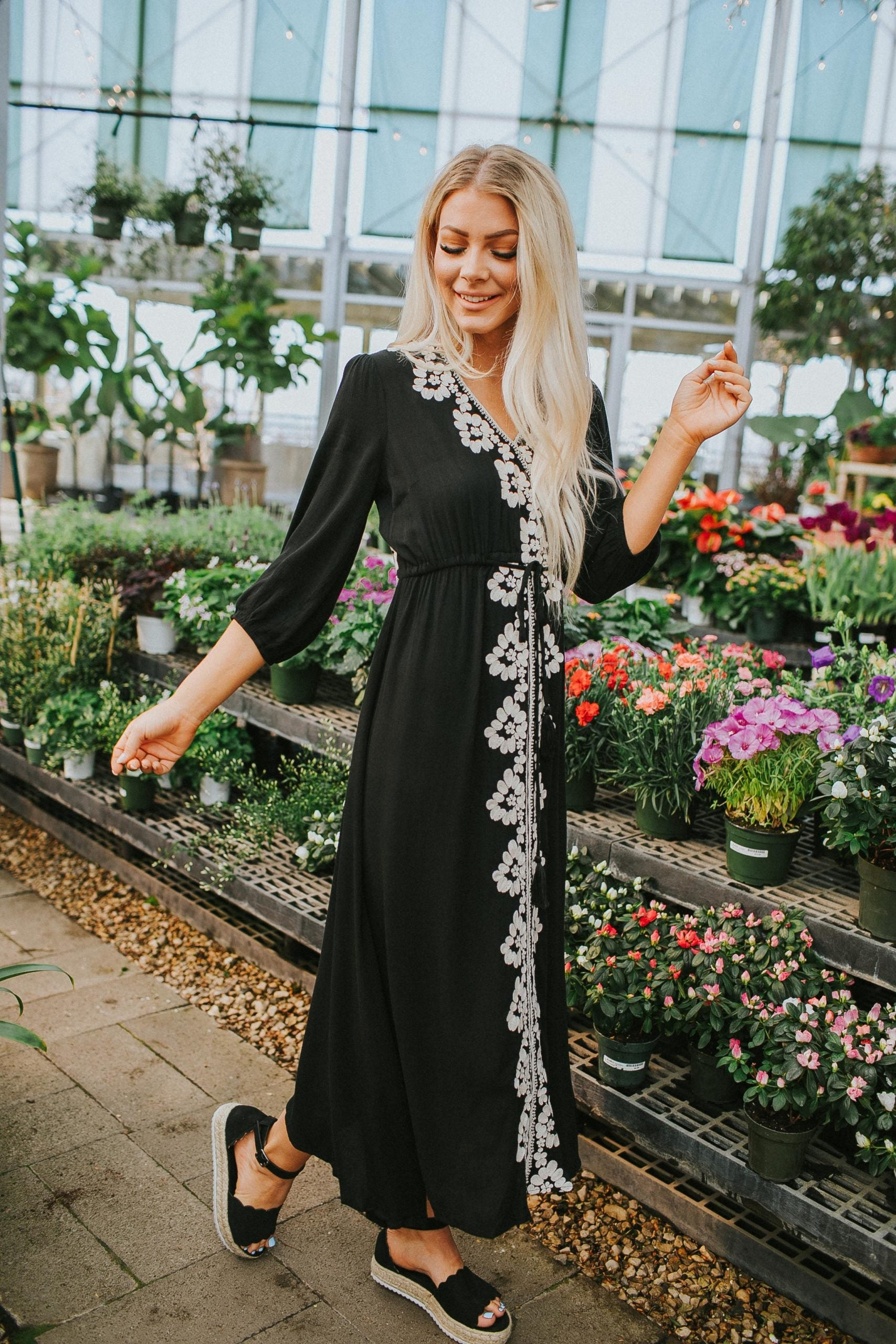 Scarlett Embroidered Dress