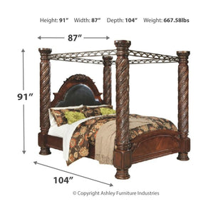 North Shore Poster Bed with Canopy