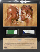 Load image into Gallery viewer, Mayweather vs Canelo Limited Edition Art Print #90/100