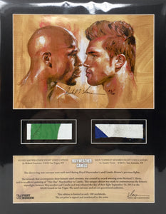 Mayweather vs Canelo Limited Edition Art Print #90/100