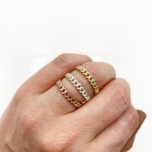 RUFFIAN CHAIN RING