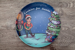 Santa's Helper Cookie Plate- Garland