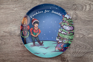 Santa's Helper Cookie Plate- Figgy