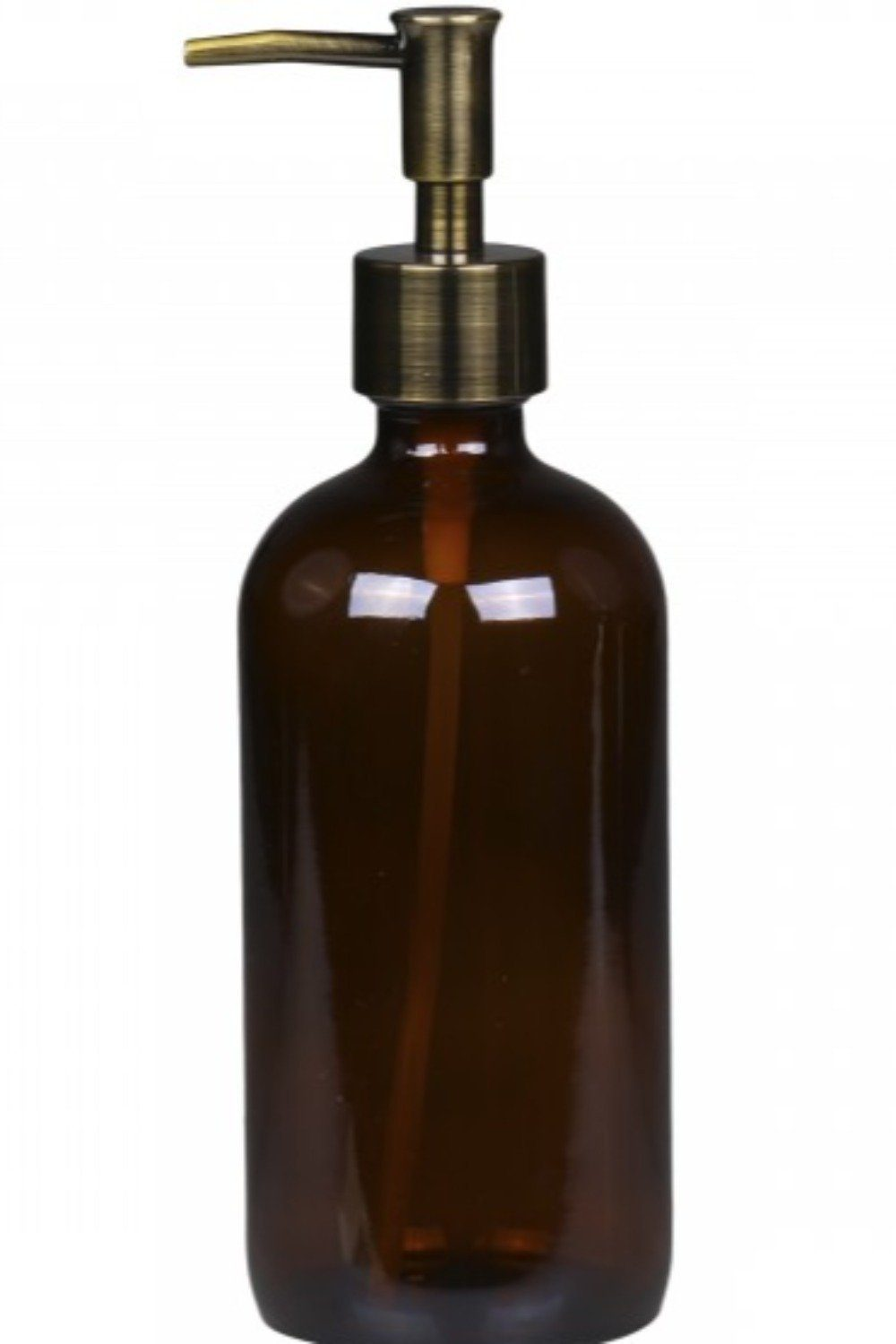 Brass and Glass Bottle Bath & Body Blume