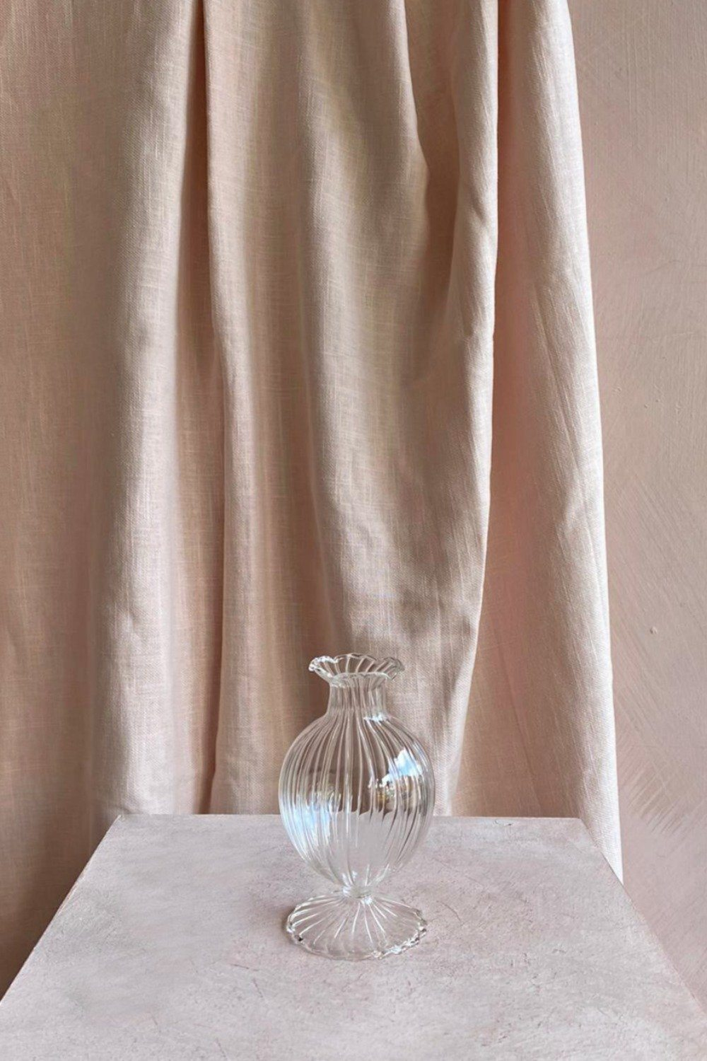 Glass Tulip Shaped Bud Vase Homewares Blume