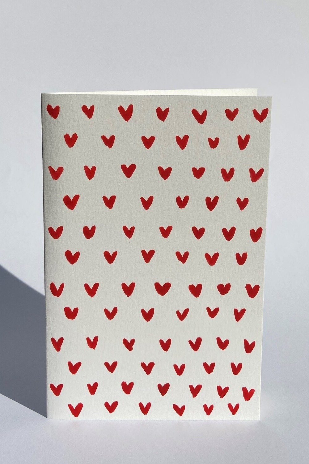 Hand Made Little Hearts Valentine's Card Gifts & Stationery Heather Evelyn