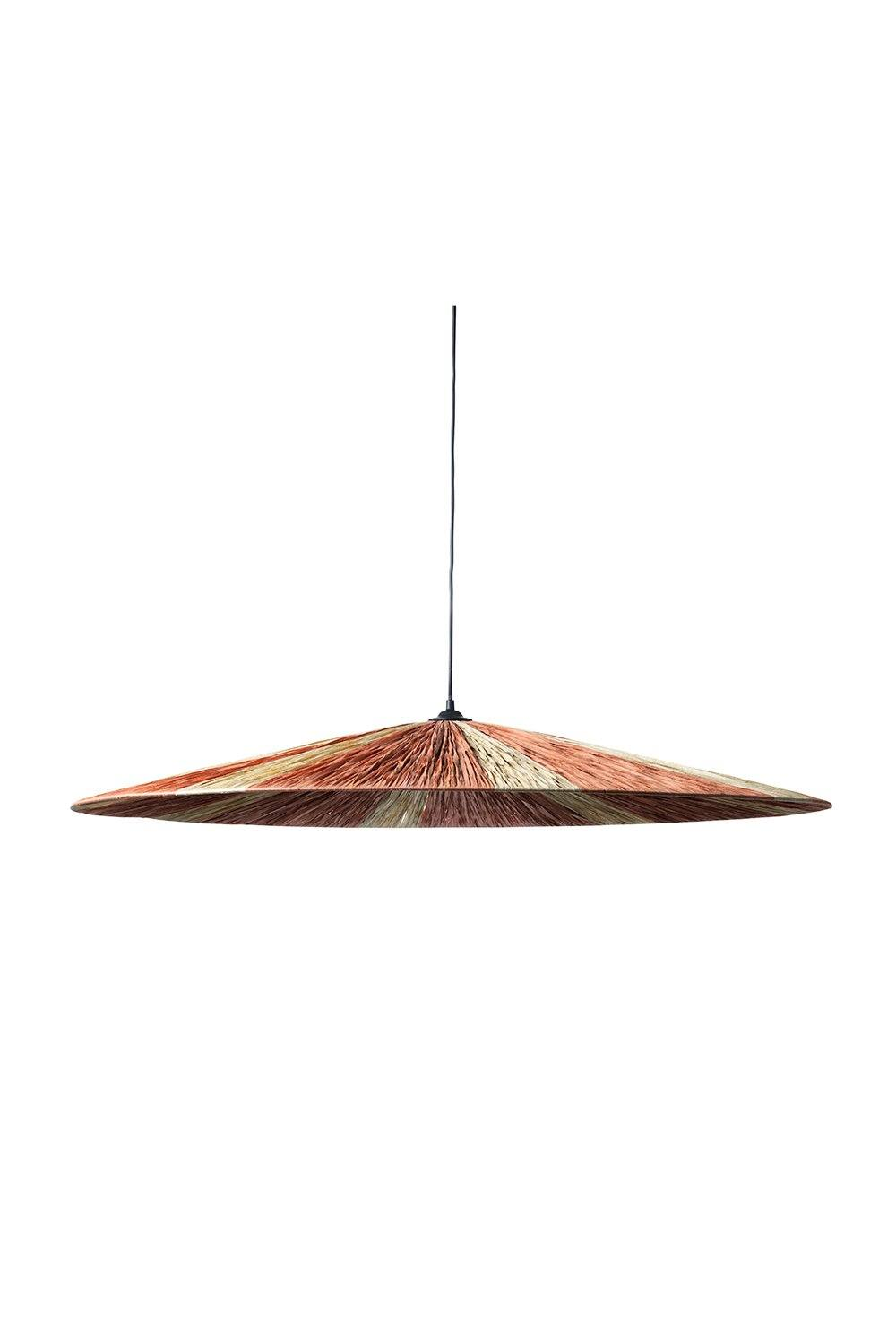Large Parasol Ceiling Pendant Light - Blush and Natural Homewares Jore Copenhagen