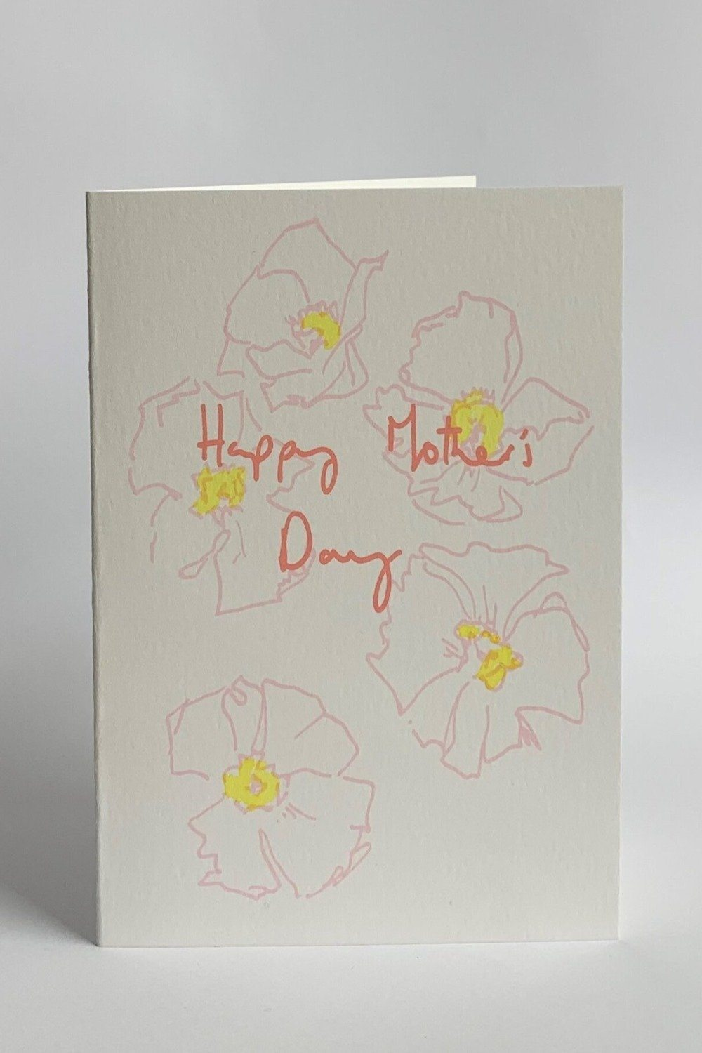 Pink Poppies Mother's Day Card Gifts & Stationery Heather Evelyn
