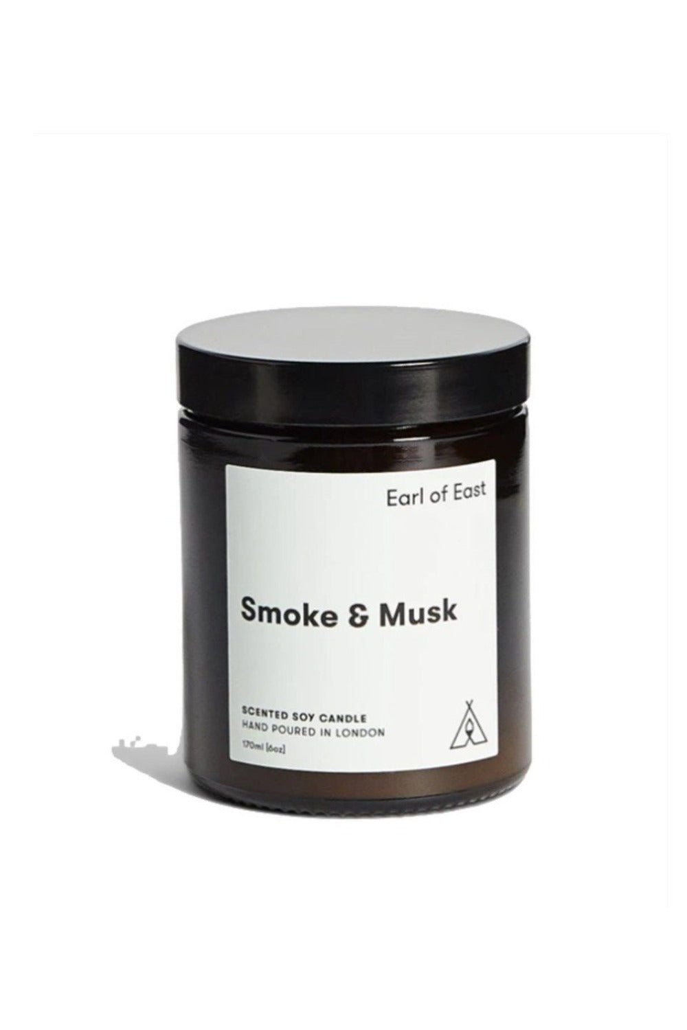 Smoke and Musk Soy Wax Candle Candles Earl of East London
