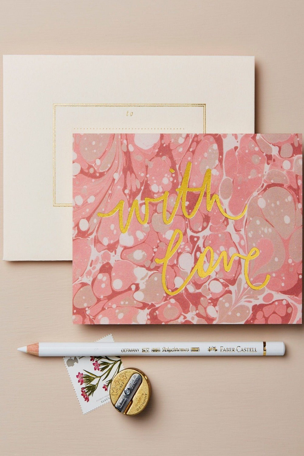 Wanderlust Card - Marble With Love Gifts & Stationery Wanderlust